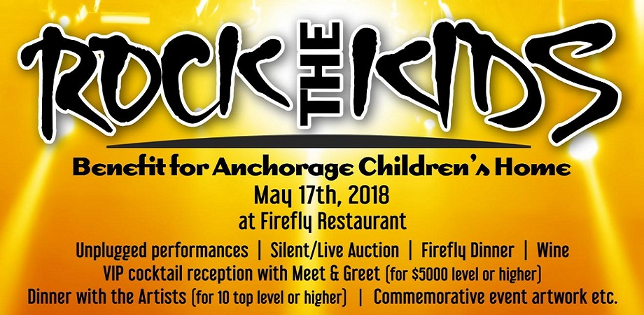 Rock the Kids Charity Event May 2018